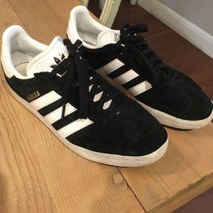 Adidas Gazelles size 8.5 gently used.